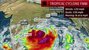 Odisha begins evacuating 8 lakh people as Cyclone Fani nears east